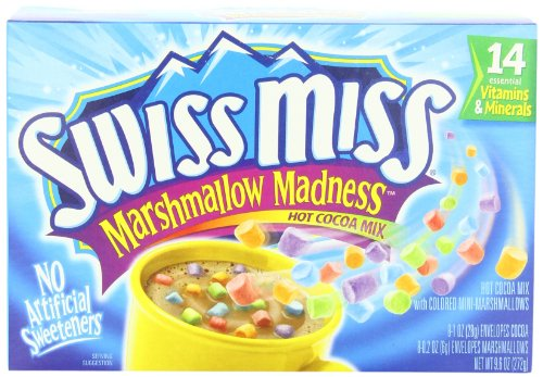 Swiss Miss Hot Cocoa Mix Marshmallow Madness  8 Count   Pack Of 8