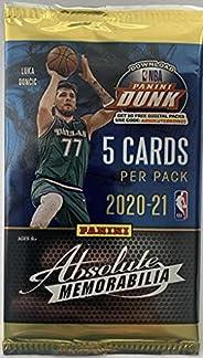 2020-21 Panini Absolute Memorabilia Basketball Trading Cards Pack