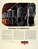 1945 Ad Cutler Hammer Motor Control Eutectic Alloy Overload Relay WWII Wartime - Original Print Ad
