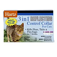 Hartz UltraGuard Plus Flea & Tick Collar for Cats and Kittens with Reflect - X Shield