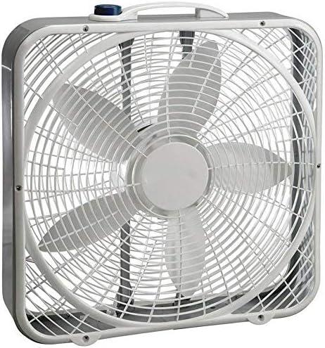 Lasko 3733 Box Fan 3 Speed 20 Inch White Home Kitchen Amazon Com
