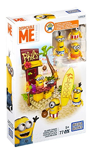 Mega Bloks Despicable Me Beach Fun Figure Pack
