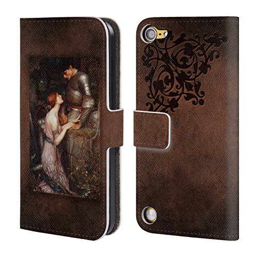 Ufficiale Brigid Ashwood Casa SullAcqua 8 Pre-Raffaelita 2 Cover a portafoglio in pelle per iPod Touch 5th Gen / 6th Gen