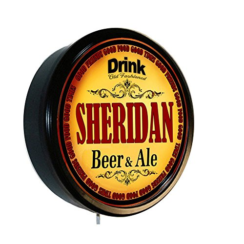 SHERIDAN Beer and Ale Cerveza Lighted Wall Sign