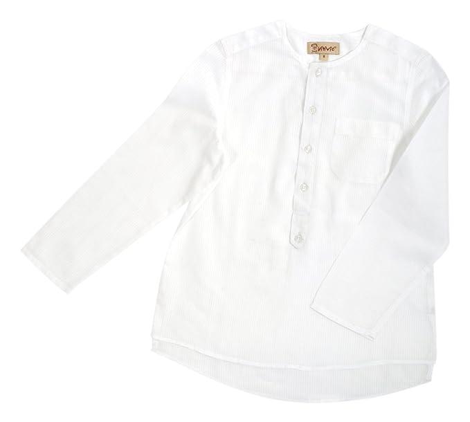 VITIVIC Michael Rayas Blancas, Camisa para Niños, 1 año