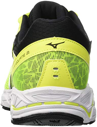 Multicolore Mizuno 2 001 yellow fierycoral Homme black Basses Sneakers Wave Equate RYrqRA