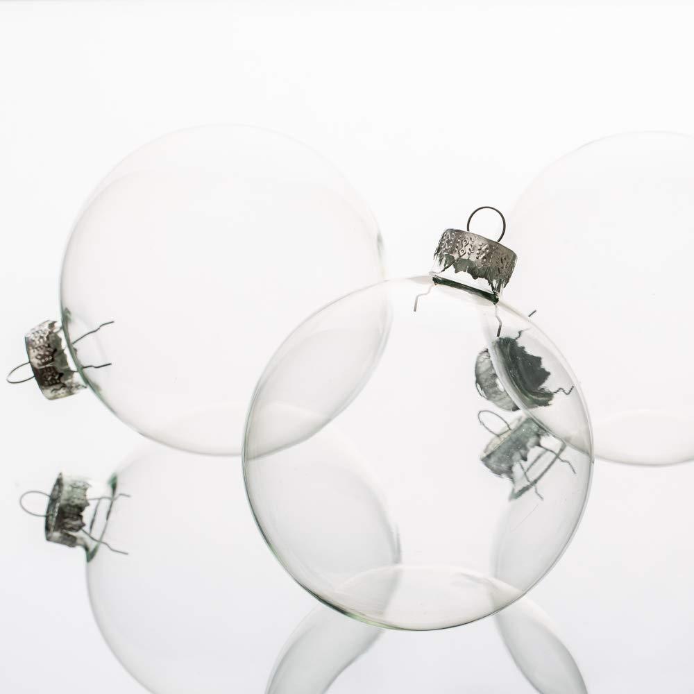 Richland Glass Ornaments 3'' Set of 24