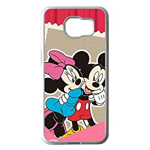 Mickey MoUSe White Phone Case For Samsung Galaxy S6