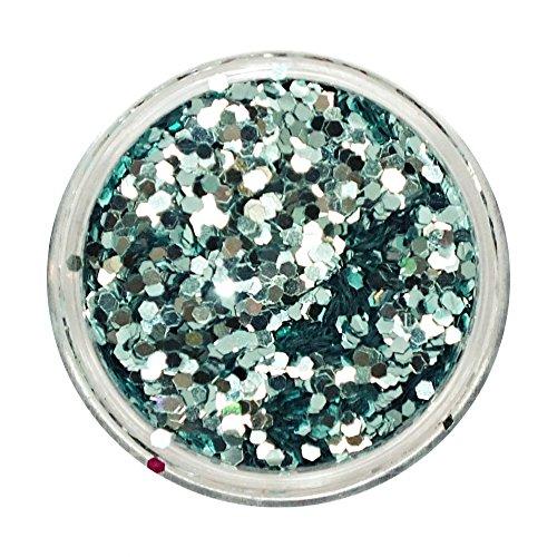 (Tiffany Blue Gem Powder Glitter #16 From From Royal Care Cosmetics)