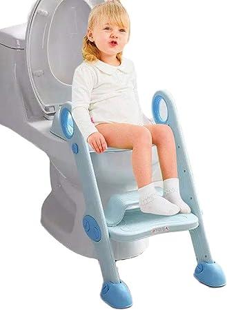 Reposapiés ajustable. Nuestro asiento de entrenamiento para ir al baño es adecuado para niños de 2 a