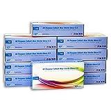 BLUE Nitrile Powder Free Examination Gloves - Size: Medium - Case of 1,000 Gloves (10 Boxes - 100 Gloves/Box)