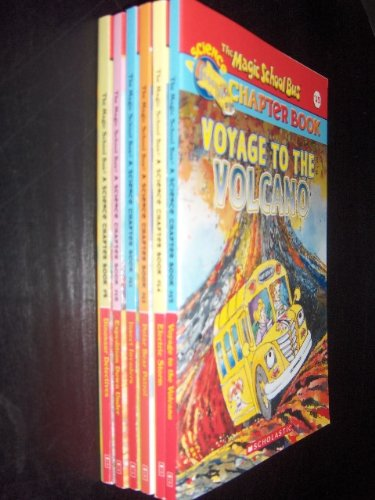 The Magic School Bus Chapter Book 6-Book Set: Dinosaur Detectives/Expedition Down Under/Insect Invaders/Polar Bear Patrol/Electric Storm/Voyage to the Volcano (Volumes 9, 10, 11, 13, 14, 15) (Magic School Bus Electric Storm)