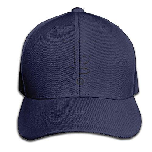 Men's Hats Juan Gabriel Navy Cricket Fitted Cap