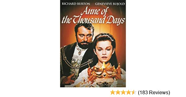 anne of the thousand days movie script