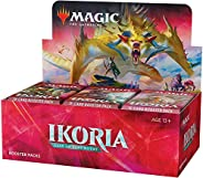 Magic: The Gathering Ikoria: Lair of Behemoths Draft Booster Box | 36 Draft Booster Packs (540 Cards + Box Top