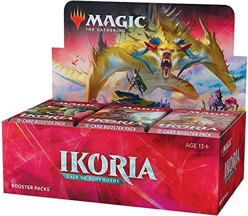 🥇 Magic: The Gathering Ikoria: Lair of Behemoths Draft Booster Box | 36 Draft Booster Packs