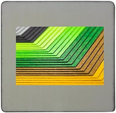 Papel, Colorido, Color, Escuela, Pintura Rígida Cuadrado Imán para ...