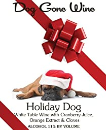 NV Honeywood Winery Holiday Dog Fruit Wine 750 mL
