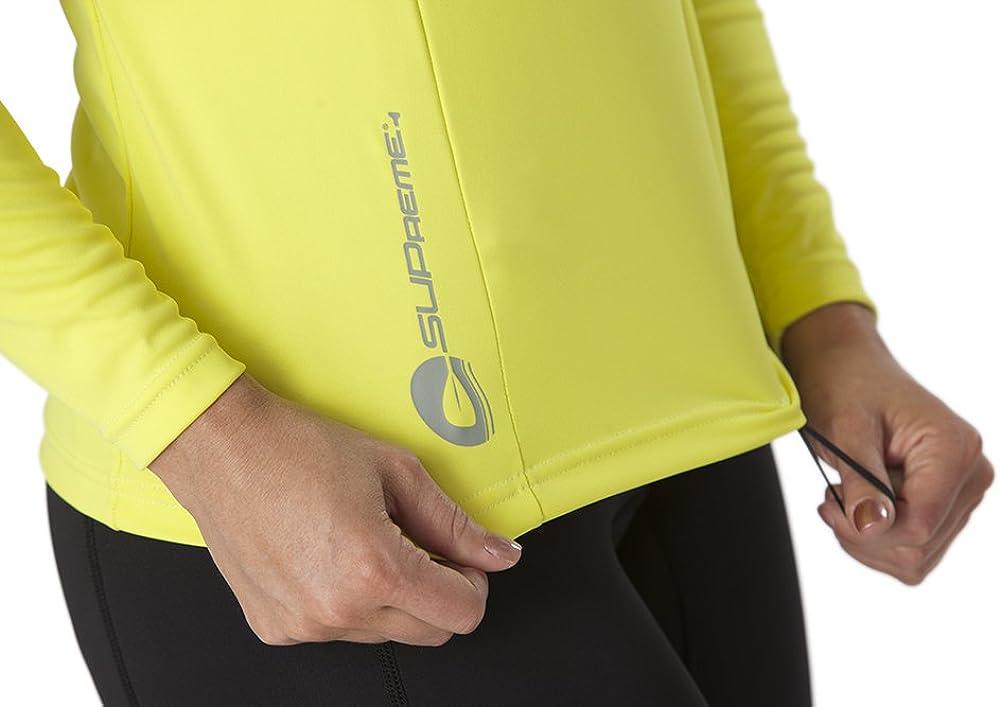 SUPreme Womens UV Shield Long Sleeve Rash Guard Top Swimming /& Water Sports Standup Paddleboarding