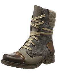 Rieker Women Ankle Boots brown, (brandy/iron/cigar/wo) 79631-25