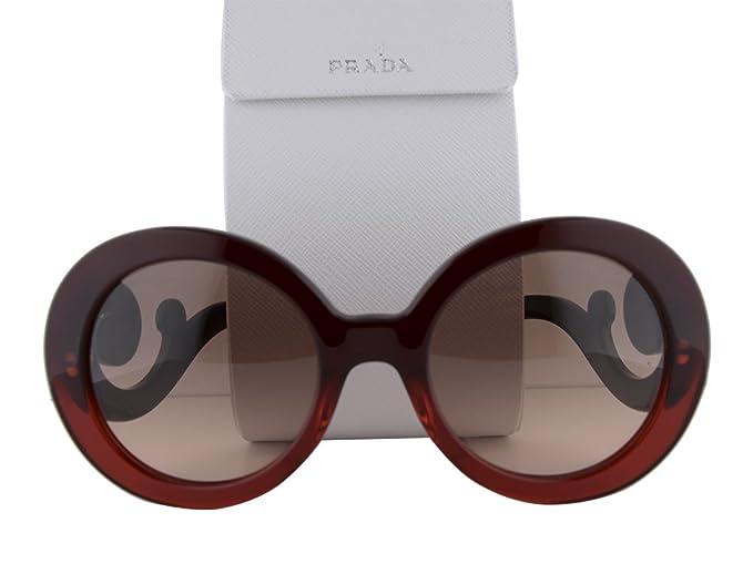 6f303f2b52abb Prada SPR27N Sunglasses Red Gradient w Brown Gradient Lens MAX-0A5 ...