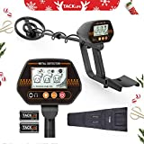 TACKLIFE Metal Detector, MMD02 Waterproof 3 Modes Underground Metal Detector Large Back-lit LCD Display Distinctive Audio Prompt & Discrimination Mode Entry Level Metal Detector Beginners