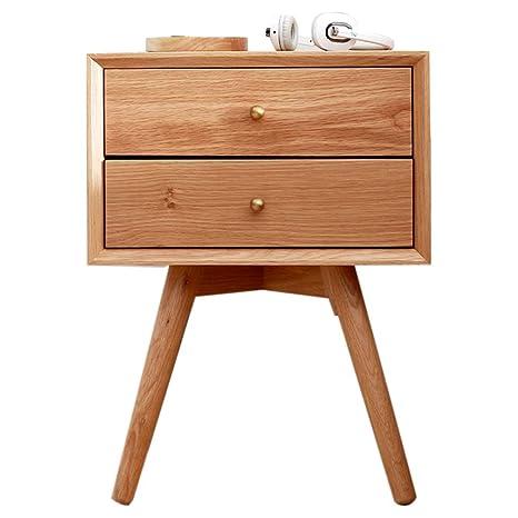 Amazon.com: Bedside table Nightstands Solid Wood Stylish ...