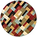 Patchwork River Multi Contemporary Barclay Runner Rug (54910)