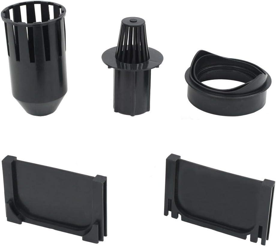 f/ür Kan/äle und Rohrleitungen mit dem Durchmesser von 10 mm yorten 6 STK Entw/ässerungskan/äle Entw/ässerungsrinne Entw/ässerungskanal 100 x 12,5 x 8 cm L x B x H