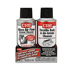 CRC MAF & Throttle Body Single-Use Twin Pack, 1 Kit