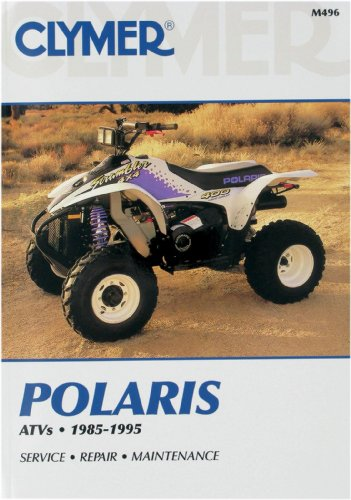 Drive Manufacturer Part Number - 1985-1995 POLARIS POLARIS ATV (ALL 6 WHEEL DRIVE MODELS) SERVICE MANUAL/POLARIS, Manufacturer: CLYMER, Manufacturer Part Number: M496-AD, Stock Photo - Actual parts may vary.