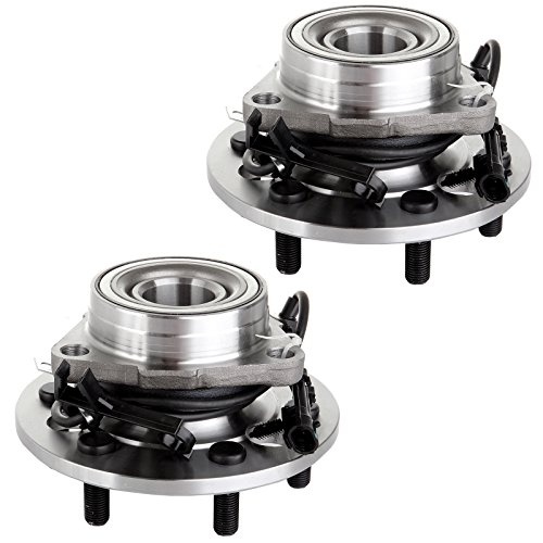 Gmc K1500 Axle Bearing - Scitoo Wheel Hub Bearing for Chevy K1500 Pickup Tahoe w/ABS 4WD 4x4 515024 pack of 2