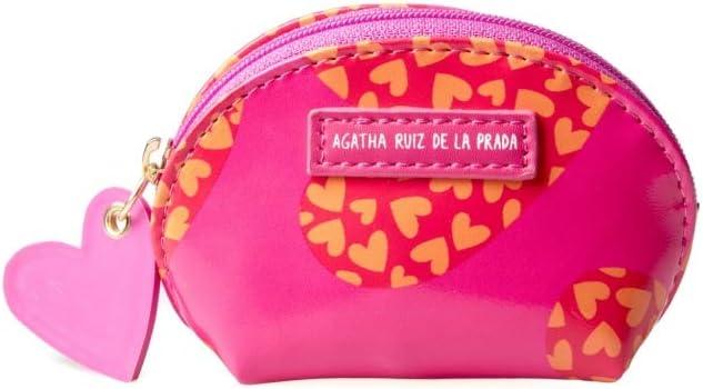 Agatha Ruiz de la Prada Monedero Estampado de Corazones: Amazon.es: Equipaje