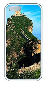 iPhone 5 5S Case Great Wall Of China 01 TPU Custom iPhone 5 5S Case Cover White