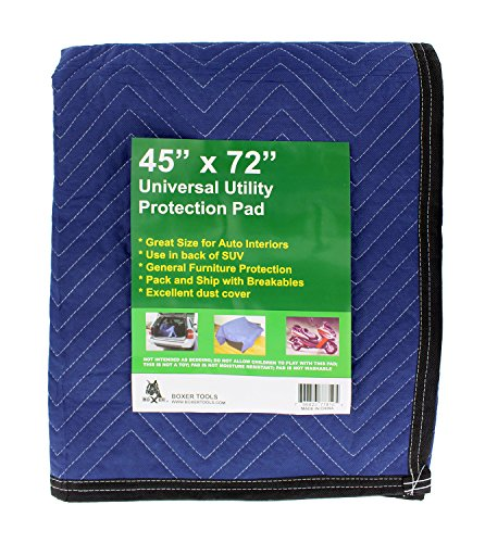 "ABN Universal Utility Protection Blankets 72"" x 45"" Inch – 6-Pack – Heavy Duty for Moving by ABN (Image #4)"