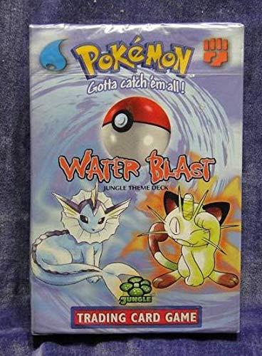海外版ポケモン Junglre テーマデッキ WATER BLAST 品 ポケモンカードゲーム ポケモンジャングル