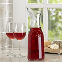 Libbey Glass Carafe with Stamp - 1 Litre - Pack of 2