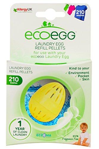 Ecoegg Laundry Egg Refill, 210 Loads, Fragrance Free