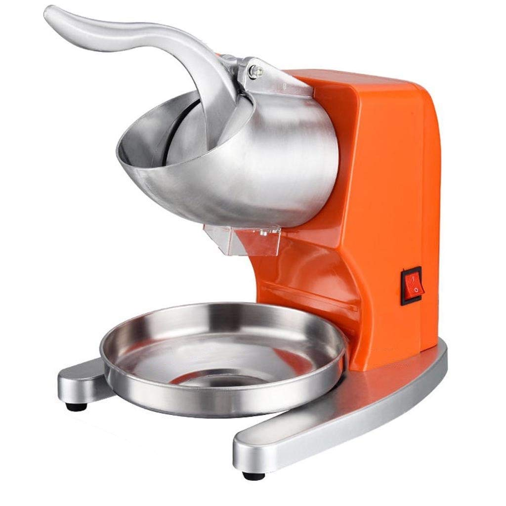 Ice Crusher - Stainless Steel Ice Crusher, Commercial Tea Shop Shaved Ice, Ice Machine, Smoothie Machine by FEI JI