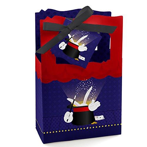 Magic - Party Favor Boxes - Set of (Magician Party Favors)