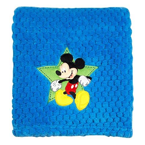 (Disney Mickey Popcorn Coral Fleece Blanket)