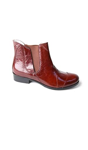 Yull Shoes Women's Ankel-Boots FULHAM 3 Brown