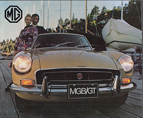 - 1972 MGB/GT sales brochure 10/71