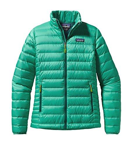 Patagonia Down Sweater - Women's Aqua Stone Large (Patagonia Down Sweater Jacket)