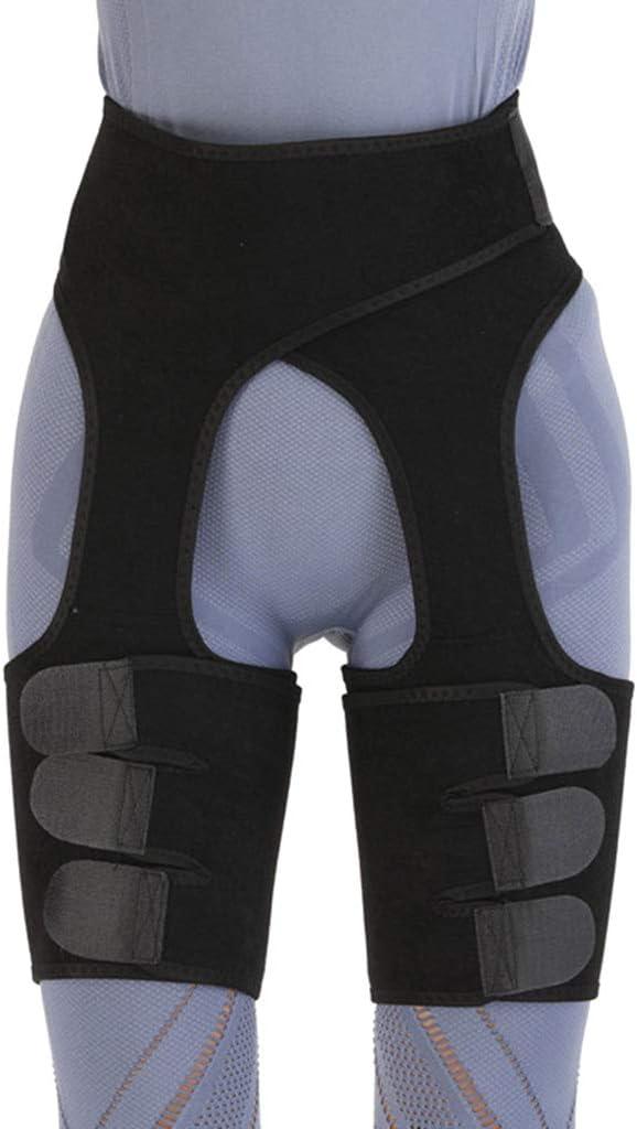 XANGLO Waist 3-in-1 Thigh Trimmer for Women, High Waist Butt Lifter, Weight Loss Waist Thigh Slimmer Booty Hip Enhancer, Thigh Body Shaper Yoga Supplies Yoga Equipment