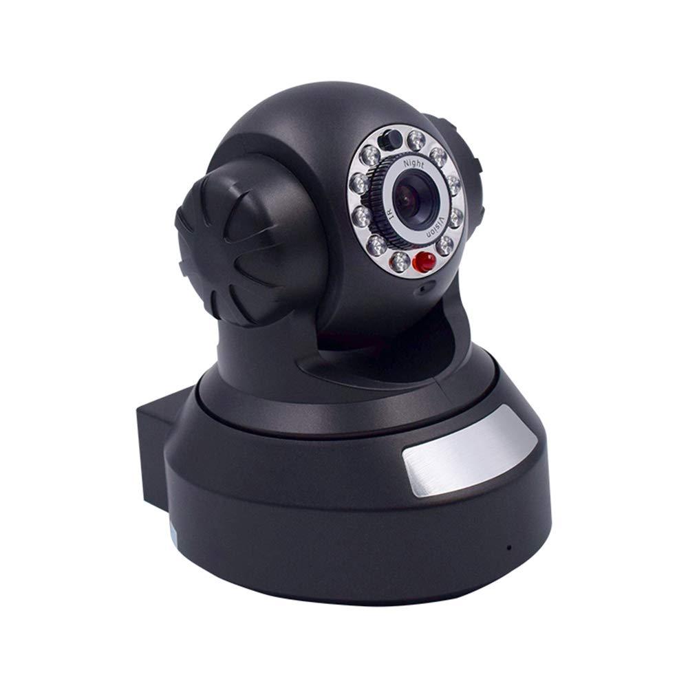 Springdoit Telecamera di Sicurezza con Telecamera di Rete WiFi, Telecamera di sorveglianza avanzata 1080P Wireless per la Sicurezza Domestica del Monitor remoto - Nera