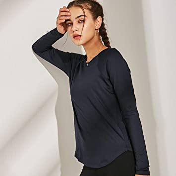 Camisas y Camisetas Camisa Fitness Mujer, Ideal para Pilates ...