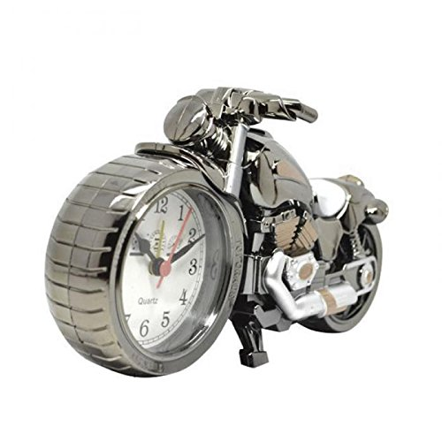 Motorcycle Alarm Clock Shape Creative Retro Gifts Upscale Furnishings Boutique Home Decorator - Outlet Sales Station Watch