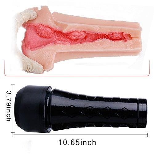Tracy's Dog® Male Masturbators Cup Adult Sex Toys Realistic Textured Pocket Vagina Pussy Man Masturbation Stroker
