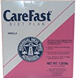 CareFast Diet Plan- The nutritiously Prepared Meal Replacement Mix for Weight Loss.- Vanilla,14 Packets